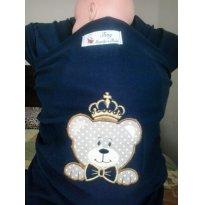 Wrap Sling bordados e personalizados -  - Sling Mamãe e Bebê