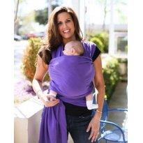 Wrap Sling, Carregador de Bebê, 100% Algodão, Uva -  - Sling Mamãe e Bebê