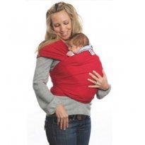 Wrap Sling, Carregador de Bebê, 100% Algodão, Vermelho -  - Sling Mamãe e Bebê