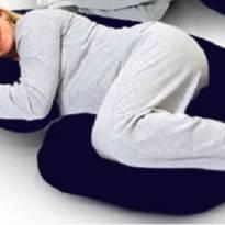 Kit travesseiro anatômico de corpo com fronha -  - Não informada