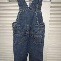 Jardineira de calça Carters - 3 meses - Carter`s