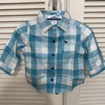 Camisa xadrez Carters - 9 meses - Carter`s