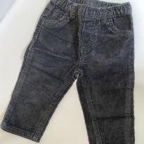 Calça de veludo cotelê Carters - 9 meses - Carter`s