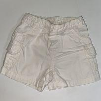 Bermuda Off White Carters - 9 meses - Carter`s