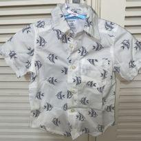Camisa manga curta Carters - 1 ano - Carter`s
