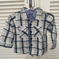 Camisa xadrez Tip Top - 6 a 9 meses - Tip Top