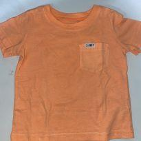 Camiseta laranja Carters - 1 ano - Carter`s