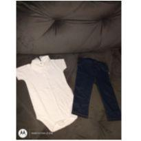 Body e calça - 1 ano - Paola Da Vinci e Baby clube