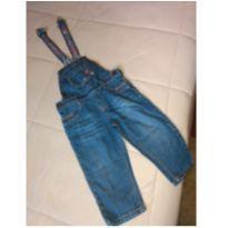 Macacão jeans  oshkosh - 18 a 24 meses - Genuine Kids  OshKosh