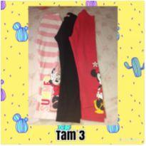 Kit calça legging - 3 anos - C&A e Disney