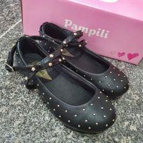 Sapato preto Pampili - 25 - Pampili