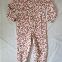 Macacão pijama de frio - 3 anos - Have Fun