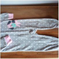 Macacão em fleece - 18 meses - Carter`s