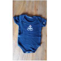 Body azul marinho - 3 meses - Bicho Molhado