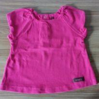 Blusinha rosa - 0 a 3 meses - Milk & Co