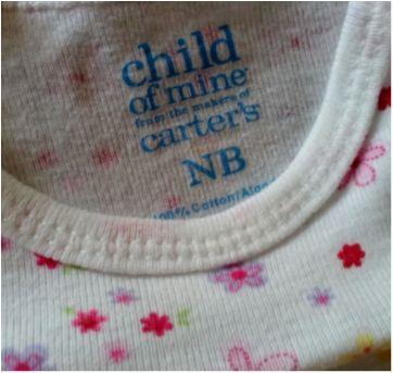 Body Carter`s de flores - Recém Nascido - Carter`s