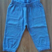 Calça azul Carter`s - 0 a 3 meses - Carter`s