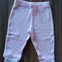 Calça rosa gatinho Carter`s - 0 a 3 meses - Carter`s