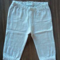 Calça branca Carter`s - 0 a 3 meses - Carter`s