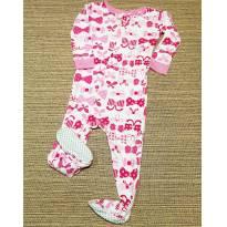 Macacão Lacinhos - 9 meses - Babies R Us