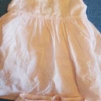 Vestido Rosa com bordado - 3 a 6 meses - Maggie & Zoe