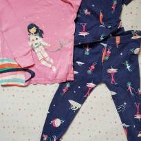 Pijama Astronauta 3 peças - 18 meses - Carter`s