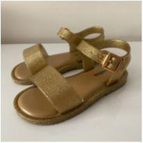 Melissa Mar Sandal Dourada - 22 - Melissa