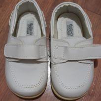 Sapato Branco Batizado - 20 - Sonho de Criança