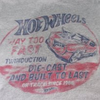 CAMISETA HOT WHEELS - TAM: 08 ANOS - 8 anos - C&A