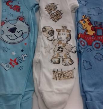 3 - MACACÃO POR PREÇO DE 1 - SOF&ENZ KIDS - TAM: G - M - 3 a 6 meses - Sof & Enz Kids