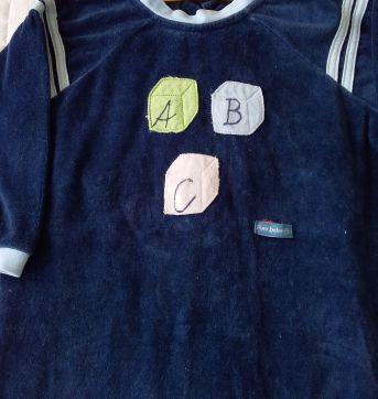 MACACÃO DE PLUSH - PETIT BEBÊ- TAM: G - 9 a 12 meses - petit bebe