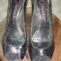 Sapato Peep toe - 35 - Bebecê