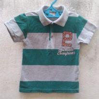 Camisa Polo - 4 anos - Brandili