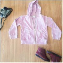 jaquetinha rosa em plush marca paola bimbi tm 2 anos - 18 a 24 meses - Paola BimBi