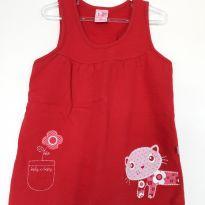 Vestido de Gatinha - 3 anos - Kely & Kety
