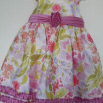 Vestido floral - 2 anos - Marmellata