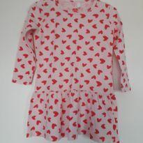 Vestido de coração! - 2 anos - Baby Club