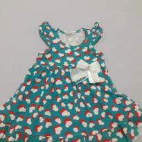 Vestido de coração - 1 ano - polegar