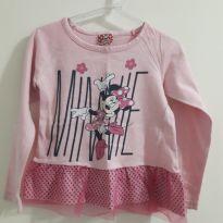 Blusa Minie - 3 anos - Disney e Pernambucanas