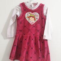 Vestido Malwee Moranguinho - 3 anos - Malwee