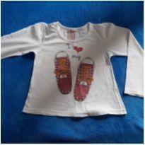 Blusinha de manga comprida - 4 anos - Palomino