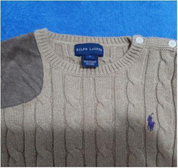 Blusa de lã Ralph Lauren - 5 anos - Ralph Lauren