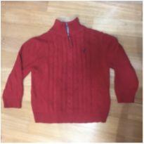 Malha vermelha trico Nautica - 3 anos - Nautica
