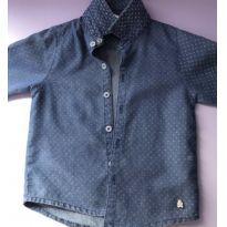 1c7816379b Camisa manga longa. Marca  Paola Da Vinci   6 a 9 meses   R  125