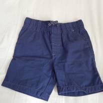 Bermuda sarja Carters - Azul escuro - 3 anos