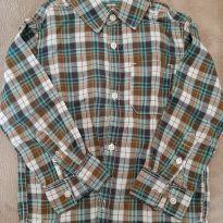 Camisa social xadrez - 3T - Carter`s - 3 anos - Carter`s