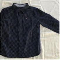 Camisa manga longa azul marinho Tommy Hilfiger - 4 anos - Tommy Hilfiger