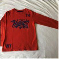 Camiseta manga longa - 5 anos - Tommy Hilfiger