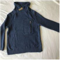 Blusão Azul - 5 anos - Zara