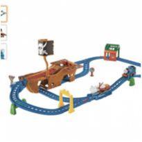 Ferrovia Motorizada Thomas e Seus Amigos Aventura Pirata